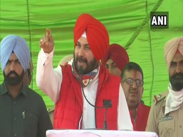 Congress leader Navjot Singh Sidhu in Amritsar on Friday.