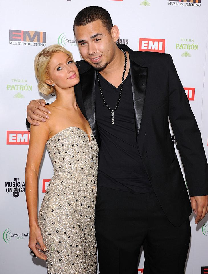 """Paris Hilton and DJ Afrojack have called it quits after dating for around six months,"" reveals RadarOnline, which notes the ""two got very serious, very fast"" and were living together in the heiress' Beverly Hills mansion. For why the couple suddenly broke up, and who incredibly came between them, see what a Hilton confidante leaks to <a target=""_blank"" href=""http://www.gossipcop.com/paris-hilton-afrojack-split-breakup-dumped-dating/"">Gossip Cop</a>."