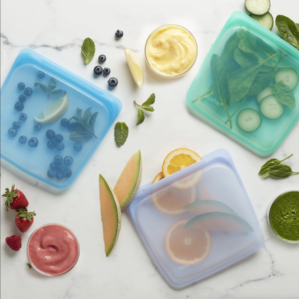 People Are Obsessed With These Reusable Sandwich Bags On