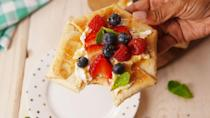 """<p>If you're only using tortillas for savory eats, you're missing out.</p><p>Get the recipe from <a href=""""https://www.delish.com/cooking/recipe-ideas/recipes/a53874/summer-berry-tortilla-tart-recipe/"""" rel=""""nofollow noopener"""" target=""""_blank"""" data-ylk=""""slk:Delish"""" class=""""link rapid-noclick-resp"""">Delish</a>.</p>"""