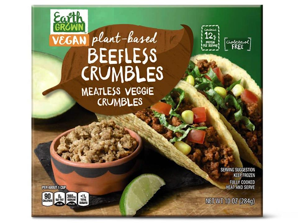 beefless crumbles