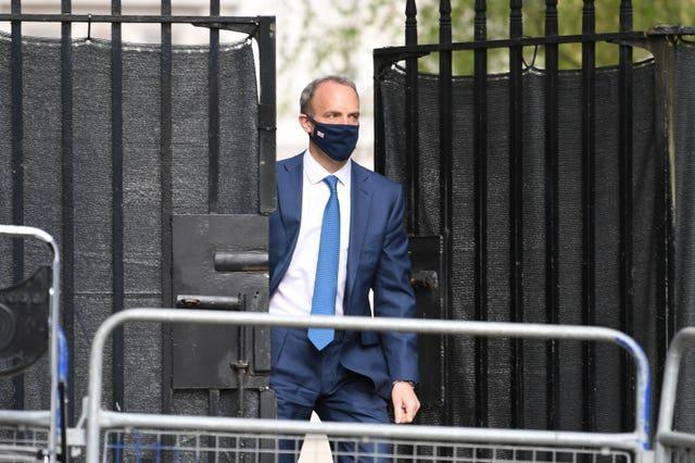 Nazanin Zaghari-Ratcliffe questioned why Foreign Secretary Dominic Raab did not answer an urgent question about her latest sentencing, according to her husband