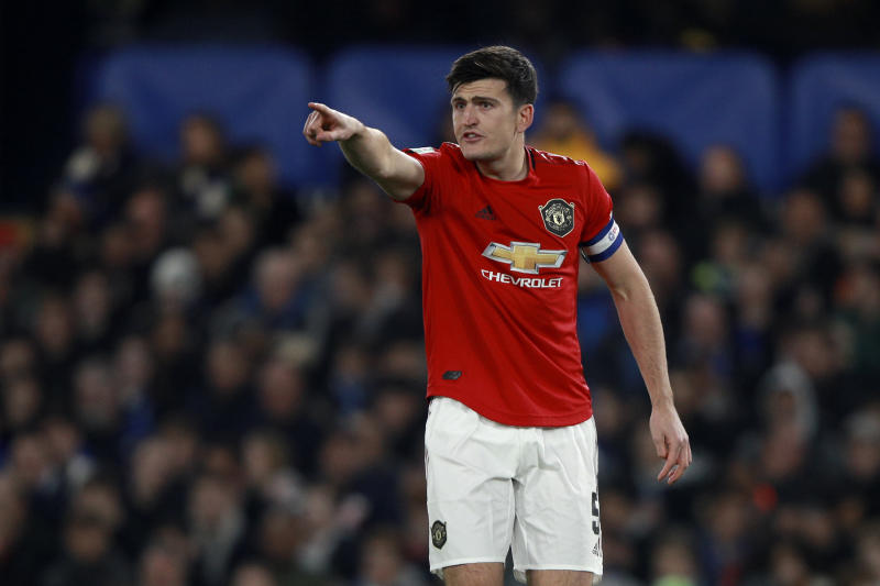 Don't bet against Harry Maguire and Manchester United beating Bournemouth on Saturday. (AP)