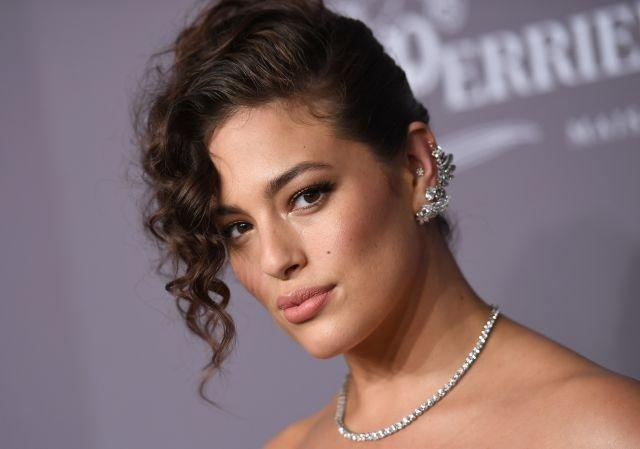 Model Ashley Graham at the 2018 amfAR Gala New York