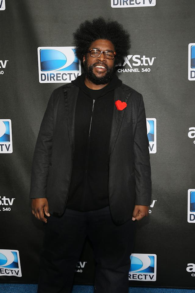 NEW ORLEANS, LA - FEBRUARY 02:  Questlove attends DIRECTV Super Saturday Night Featuring Special Guest Justin Timberlake & Co-Hosted By Mark Cuban's AXS TV on February 2, 2013 in New Orleans, Louisiana.  (Photo by Neilson Barnard/Getty Images for DirecTV)