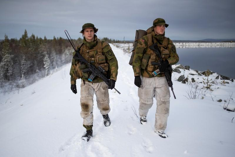 The Wider Image: On Norway's border with Russia, unease over military buildup