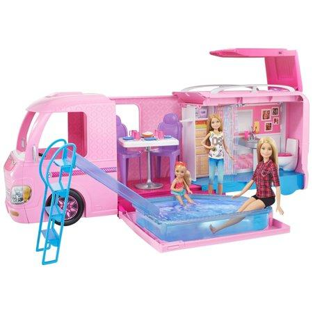 Barbie DreamCamper Adventure Camping Playset with Accessories. (Photo: Walmart)