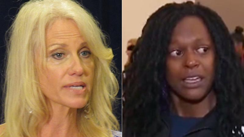 Kellyanne Conway Uses Flood Victim's Agitated Interview To Take A Dig At CNN