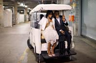 <p>Needless to say, the pair rolled into their next eight years in style. </p>