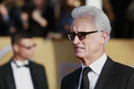 Actor John Slattery arrives at the 19th annual Screen Actors Guild Awards in Los Angeles