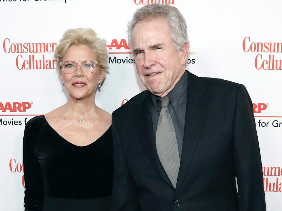 annette bening and warren beatty january 2020