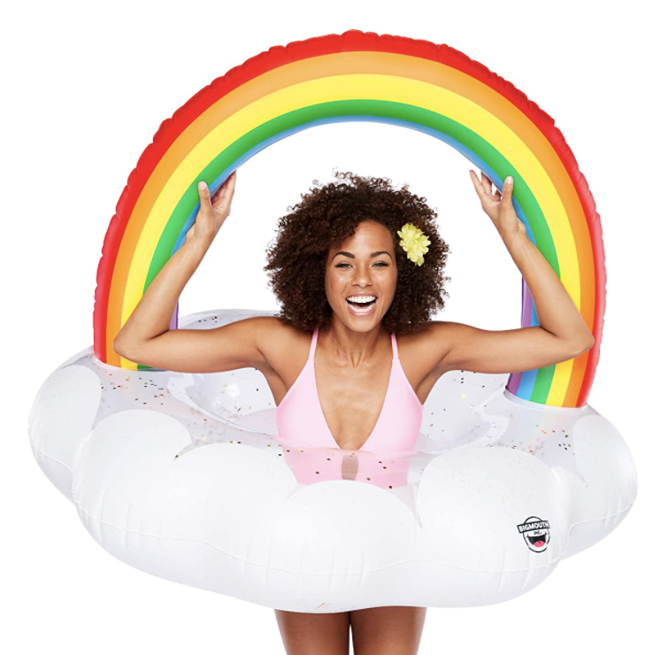 BigMouth Inc. Giant Inflatable Magical Pool Float with Glitter Inside (Photo: Amazon)