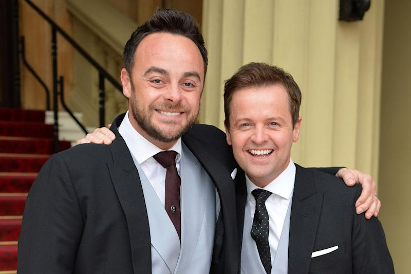 Side by side: Geordie duo Ant and Dec: John Stillwell/PA