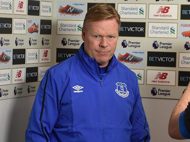 Ronald Koeman's claim that football is 'a man's game' caused controversy after the Merseyside derby: Getty