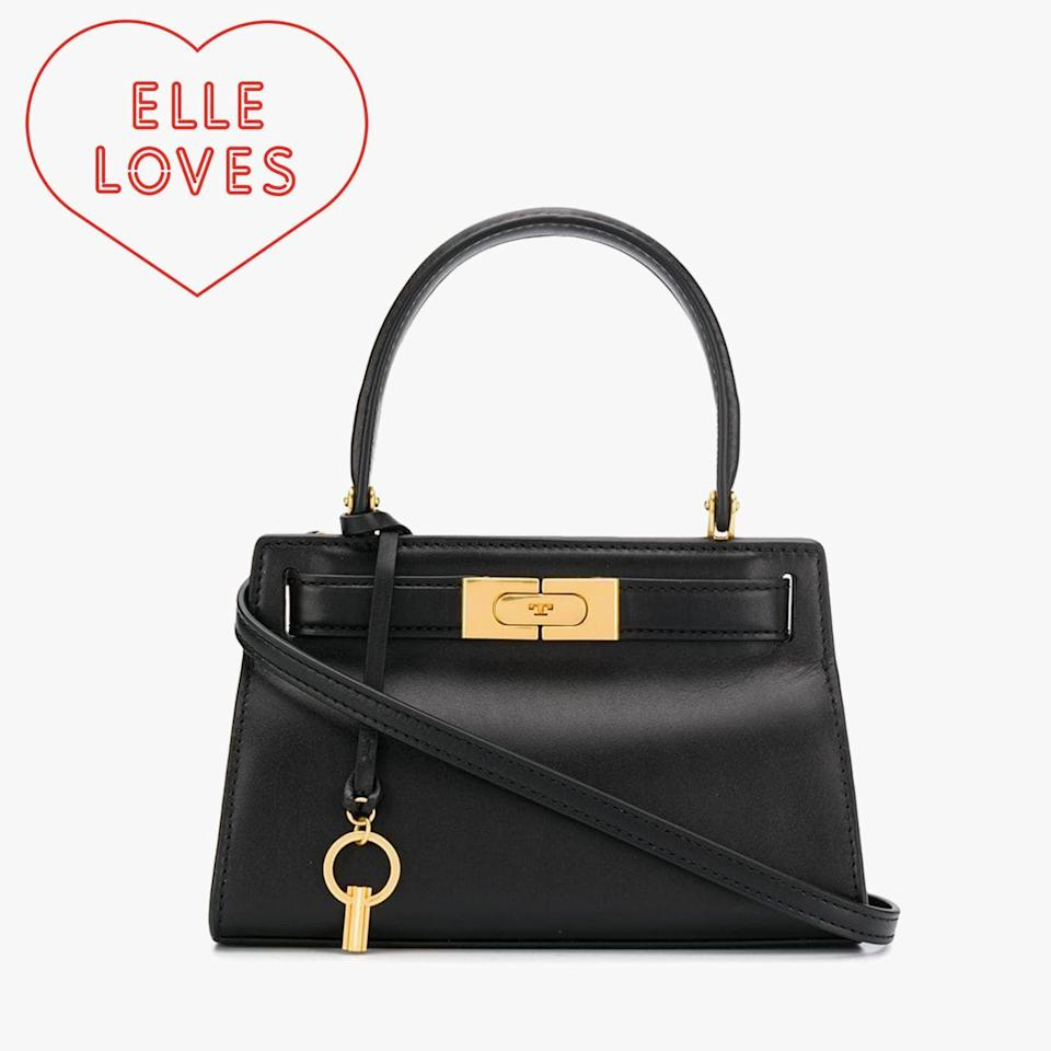 """<p><strong>Tory Burch</strong></p><p>toryburch.com</p><p><strong>$498.00</strong></p><p><a href=""""https://go.redirectingat.com?id=74968X1596630&url=https%3A%2F%2Fwww.toryburch.com%2Flee-radziwill-petite-bag%2F56912.html&sref=https%3A%2F%2Fwww.elle.com%2Ffashion%2Fshopping%2Fg33078428%2Fbest-elle-editor-product-reviews%2F"""" rel=""""nofollow noopener"""" target=""""_blank"""" data-ylk=""""slk:Shop Now"""" class=""""link rapid-noclick-resp"""">Shop Now</a></p><p>""""Mini bags can be cute, but also faintly ridiculous. Like my colleague Chloe Hall <a href=""""https://www.elle.com/fashion/celebrity-style/a20639275/kendall-jenner-tiny-bag-investigation/"""" rel=""""nofollow noopener"""" target=""""_blank"""" data-ylk=""""slk:so astutely wondered"""" class=""""link rapid-noclick-resp"""">so astutely wondered</a> about Kendall Jenner's micro-mini bag: What can you actually <em>fit</em> in that thing? I'd never been tempted to try the trend until recently when my beloved <a href=""""https://www.elle.com/fashion/accessories/a28103361/tory-burch-mini-lee-satchel/"""" rel=""""nofollow noopener"""" target=""""_blank"""" data-ylk=""""slk:Tory Burch Lee Radziwill bag"""" class=""""link rapid-noclick-resp"""">Tory Burch Lee Radziwill bag</a> was shrunken down to a petite size. You see, I have a weakness for retro-inspired shapes that I don't feel wrong calling a pocketbook (and think Lee is the ultimate style icon)."""" — <em>Leah Melby Clinton, director of branded editorial strategy</em></p>"""