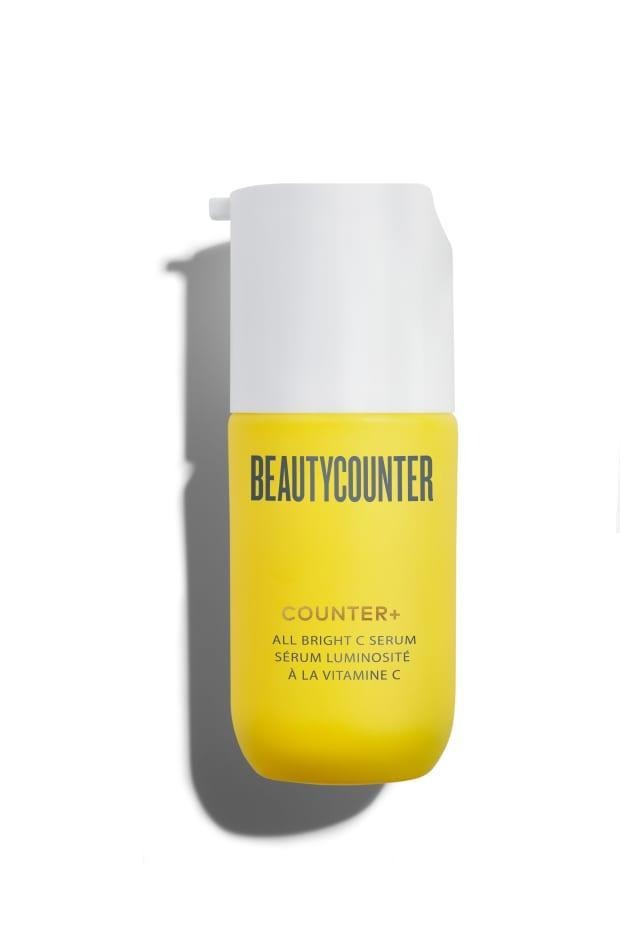 "<p><strong>Beautycounter Counter+ All Bright Vitamin C Serum, $79, <a href=""https://rstyle.me/+7r69jsQjGtD_Tim3kTpVpA"" rel=""nofollow noopener"" target=""_blank"" data-ylk=""slk:available here"" class=""link rapid-noclick-resp"">available here</a>: </strong>""I've only been using this natural vitamin C serum for a few weeks, but I've been really impressed by how simultaneously gentle and effective it is. My dark spots and overall skin tone are a bit brighter — a real feat during social isolation — and I haven't experienced any irritation, though I've been incorporating it into my routine slowly, only using it every third day."" —Stephanie Saltzman, Beauty Director</p>"