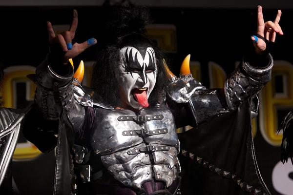 Gene Simmons Open to Rock Hall of Fame Kiss Reunion With Ace and Peter
