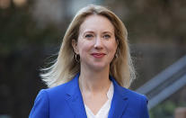 This undated photo provided by Lucy Lang For NY, shows Lucy Lang, candidate for Manhattan district attorney in New York. (Julie Eineger/Lucy Lang for NY via AP)