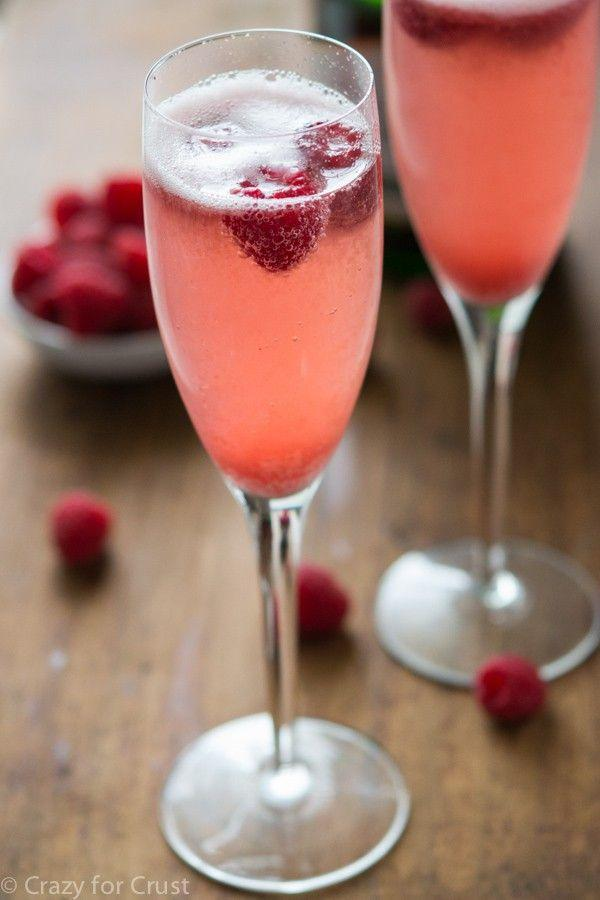 """<p>Combine sparkling wine and raspberry sorbet for this indulgent pink treat.</p><p><strong>Get the recipe at <a href=""""https://www.crazyforcrust.com/champagne-punch-bellini/"""" rel=""""nofollow noopener"""" target=""""_blank"""" data-ylk=""""slk:Crazy for Crust"""" class=""""link rapid-noclick-resp"""">Crazy for Crust</a>.</strong></p><p><strong><a class=""""link rapid-noclick-resp"""" href=""""https://www.amazon.com/Lenox-845276-Tuscany-Classics-Champagne/dp/B00FYH8V6O/?tag=syn-yahoo-20&ascsubtag=%5Bartid%7C10050.g.30433150%5Bsrc%7Cyahoo-us"""" rel=""""nofollow noopener"""" target=""""_blank"""" data-ylk=""""slk:SHOP CHAMPAGNE FLUTES"""">SHOP CHAMPAGNE FLUTES</a><br></strong></p>"""