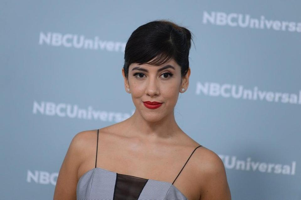 Brooklyn Nine-Nine's Stephanie Beatriz has spoken about being married to a man and still being bi (Alamy/PA)