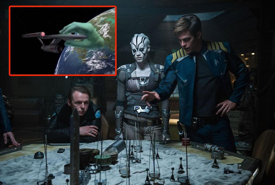 Star Trek Beyond's classic nod - Credit: Paramount
