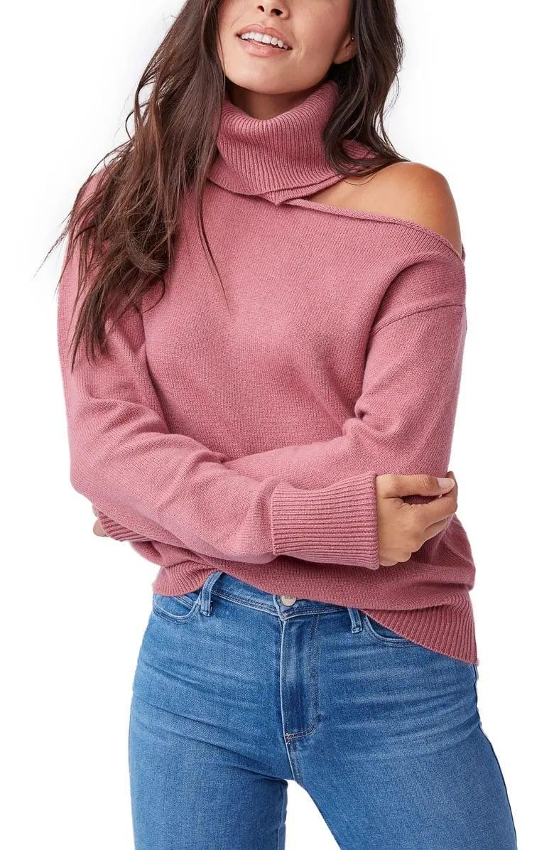 <p>This <span>Raundi Cold Shoulder Sweater</span> ($259) is beyond chic.</p>