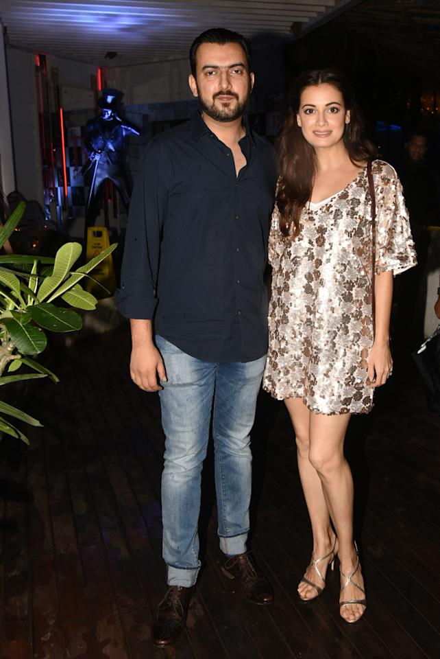 <p>Celebs at 'Sanju' success party </p>