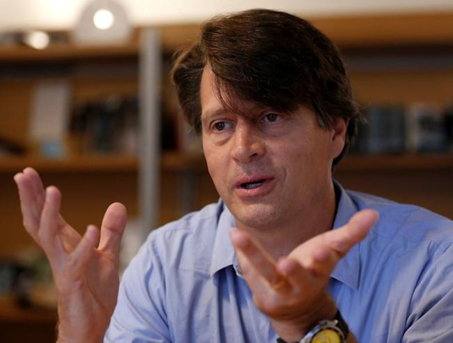 Niantic, game developer of Nintendo's smash hit Pokemon GO, Chief Executive John Hanke speaks during an interview with Reuters in Tokyo, Japan July 15, 2016.</p> <p>REUTERS/Toru Hanai