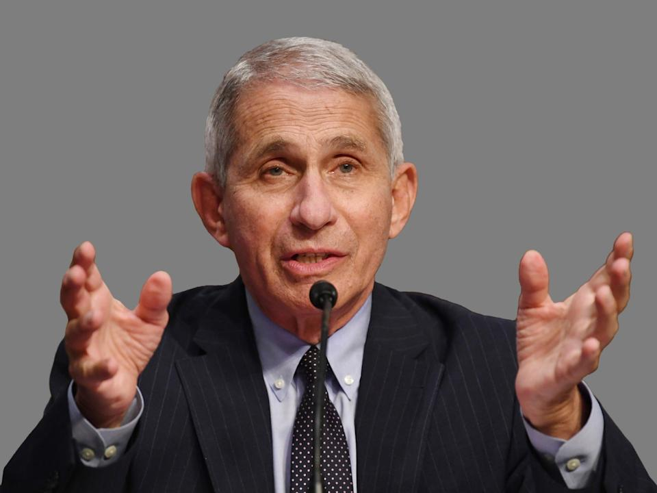 Dr. Anthony Fauci shared updates on the coronavirus with Americans Monday. Here, he's pictured testifying before a Senate Health, Education, Labor and Pensions Committee on the Trump administration's response to the COVID-19 pandemic (Photo: Getty Images)