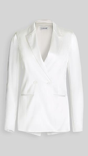 "<br><br><strong>Cushnie</strong> Double Breasted Jacket with Chiffon Sleeves & Back, $, available at <a href=""https://go.skimresources.com/?id=30283X879131&url=https%3A%2F%2Fwww.shopbop.com%2Fdouble-breasted-jacket-chiffon-sleeves%2Fvp%2Fv%3D1%2F1523502075.htm"" rel=""nofollow noopener"" target=""_blank"" data-ylk=""slk:Shopbop"" class=""link rapid-noclick-resp"">Shopbop</a>"
