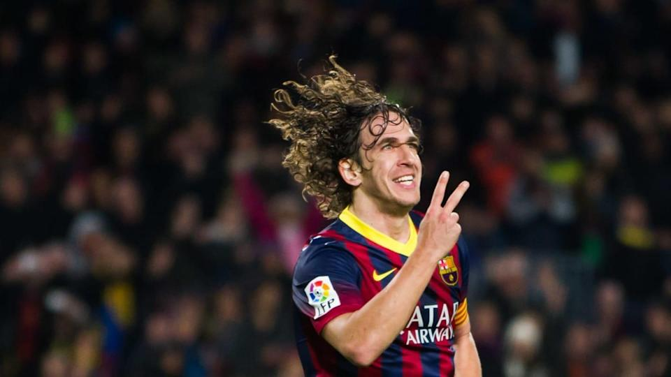 Carles Puyol com a camisa do Barcelona | Getty Images/Getty Images
