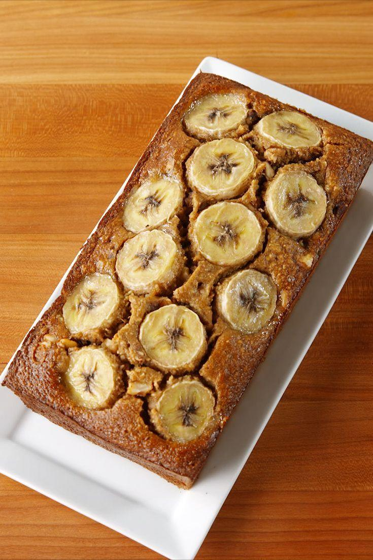 "<p>Every bit as good as the original. Bye gluten!</p><p>Get the recipe from <a href=""https://www.delish.com/cooking/recipe-ideas/recipes/a51821/gluten-free-banana-bread-recipe/"" rel=""nofollow noopener"" target=""_blank"" data-ylk=""slk:Delish"" class=""link rapid-noclick-resp"">Delish</a>. </p>"