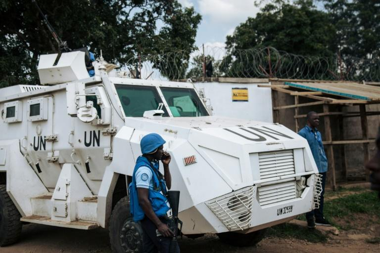 The UN has had a peacekeeping force in DR Congo since 1999 (AFP Photo/ALEXIS HUGUET)