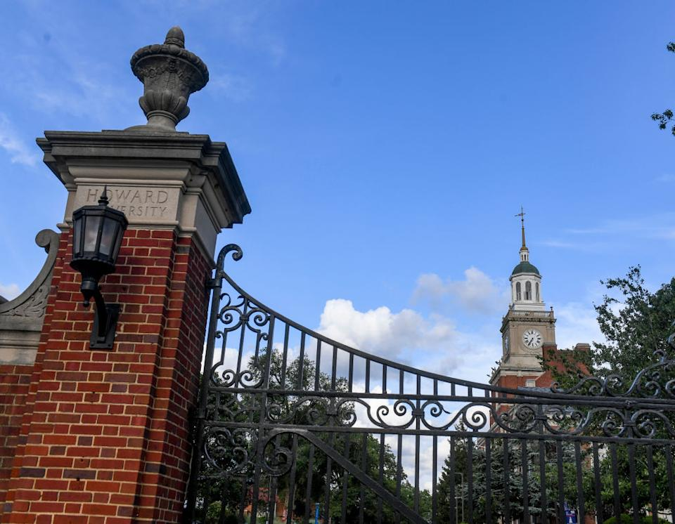 WASHINGTON, DC - AUGUST 7: Howard University announced on Friday that the Fall 2020 semester will be fully online, and non-residential. The residence halls will be closed.  (Photo by Jonathan Newton /The Washington Post)