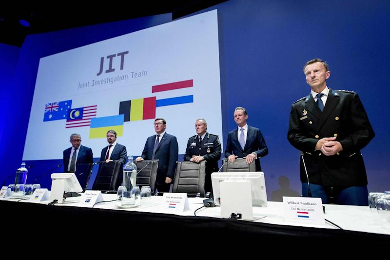 Dutch prosecutors are to charge four people over the shooting down of flight MH17 over Ukraine (AFP/Getty Images)