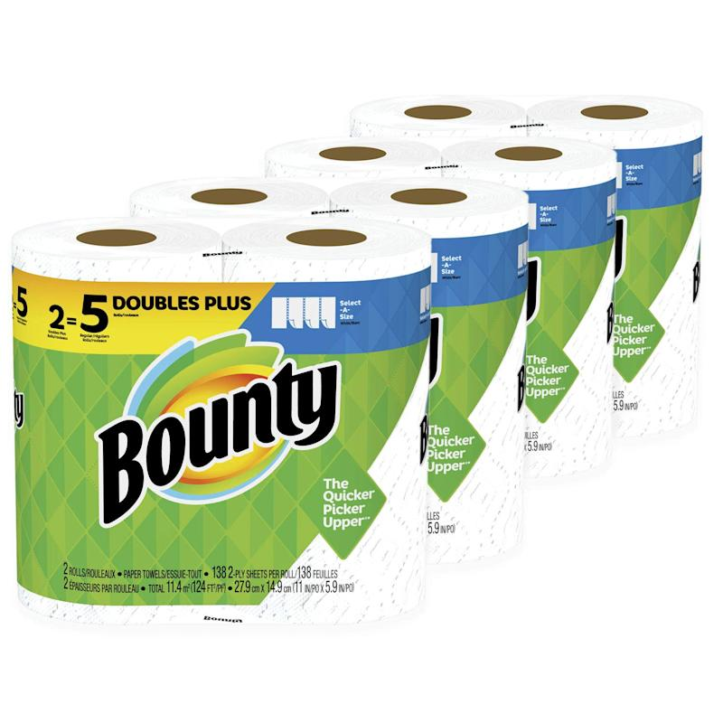 Bounty, 8 Rolls. (Photo: Amazon)