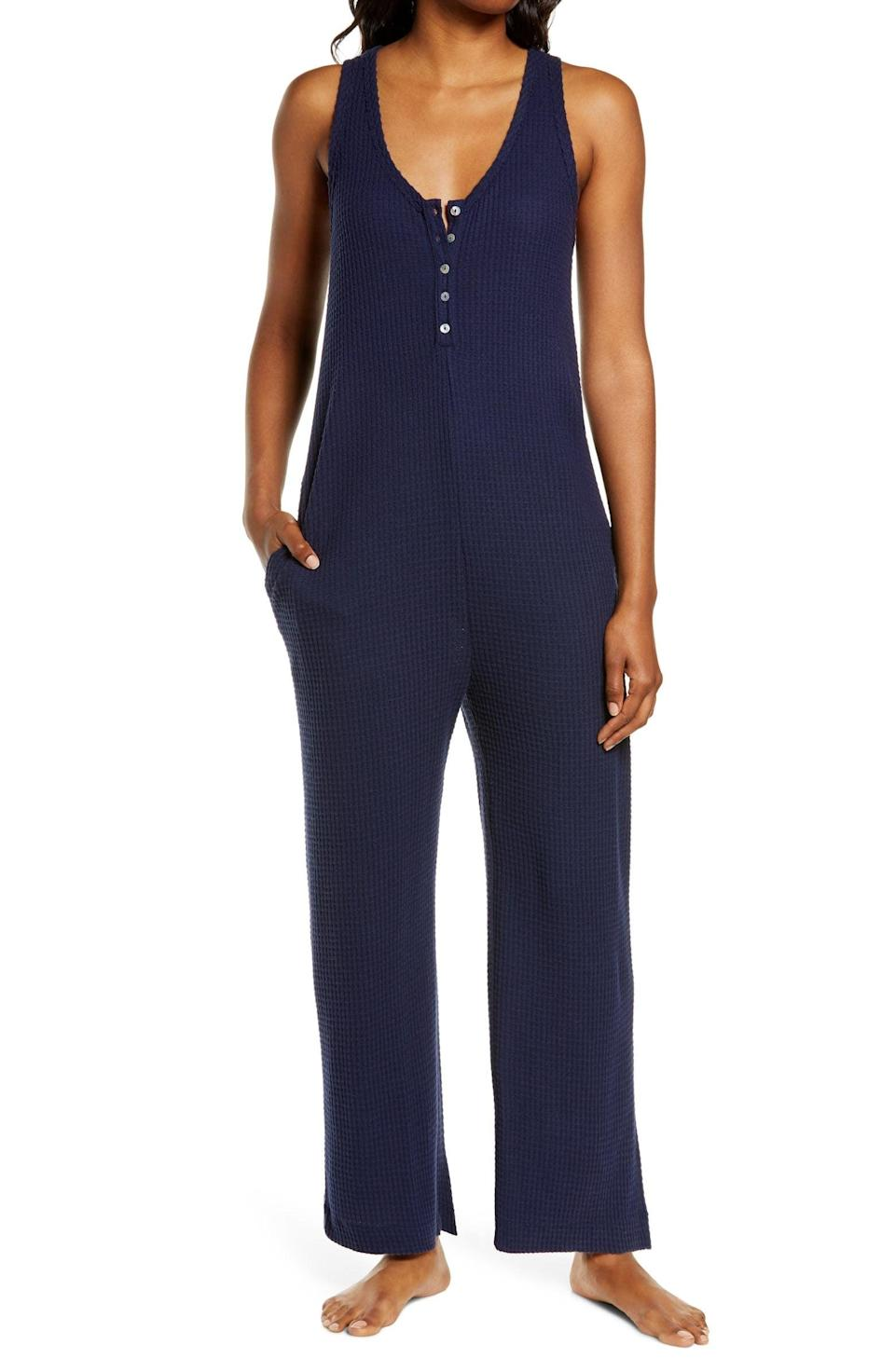 <p>This <span>Socialite Waffle Knit Wide Leg Jumpsuit</span> ($55) is a great pick for everyday outings.</p>