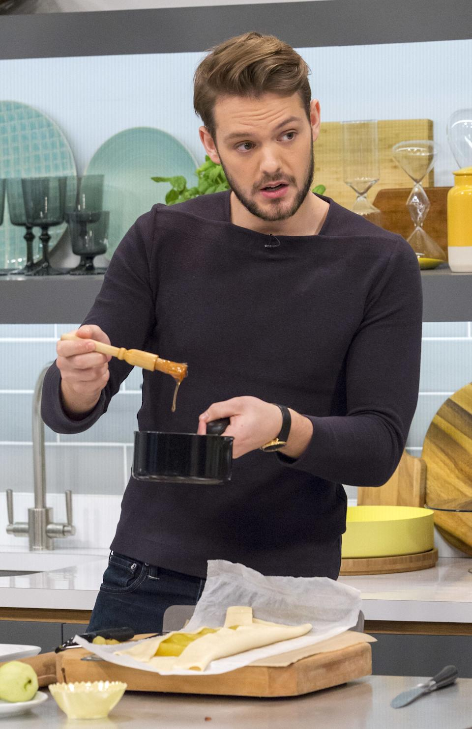 John hasn't stopped working since winning series three. As well as publishing two cookbooks, 'John Whaites Bakes' and John Whaites Bakes At Home', he earned a patisserie diploma from Le Cordon Bleu, launched his own online chocolate shop The Hungry Dog Artisan Chocolates and is set to launch his own cookery school, John Whaite's Kitchen. On top of all that he's also the resident baker on Lorraine Kelly's ITV morning show. Phew!