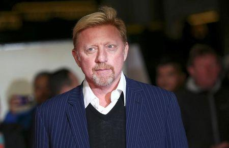 """Former tennis player Boris Becker poses for photographers at the world premiere of the film """"I am Bolt"""" in London, Britain November 28, 2016. REUTERS/Neil Hall"""