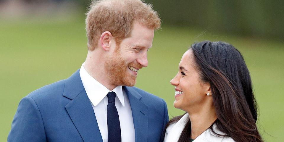 <p>Search for the official definition of 'look of love', and this will surely come up. Taken at the photo call for the soon-to-be Duke and Duchess' engagement, this pair's obsession with one another is instantly obvious.</p>