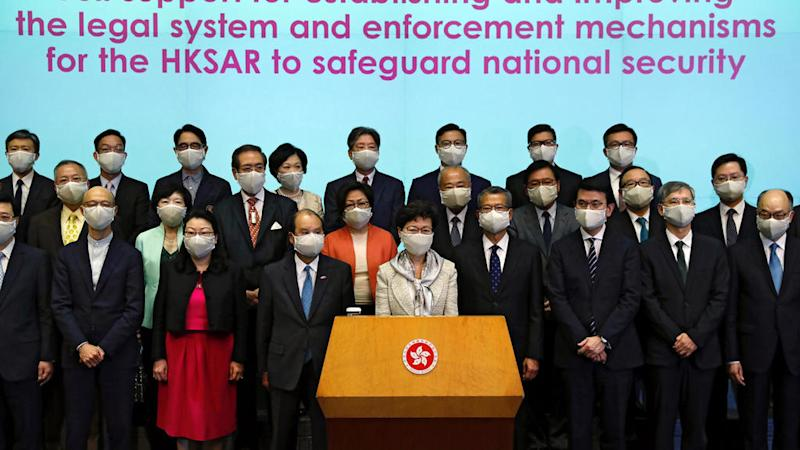 Hong Kong national security law triggers angry reactions against China