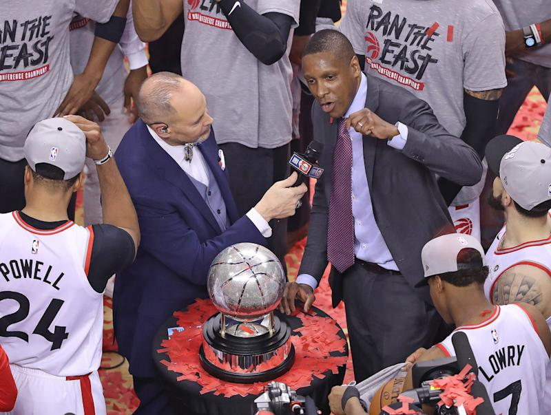 Deputy in clash with Raptors President Masai Ujiri has concussion: attorney
