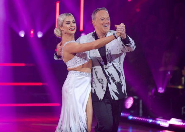 PHOTO: Lindsay Arnold and Sean Spice perform on ABC's 'Dancing with the Stars,' Sept. 23, 2019. (Eric Mccandless/ABC)