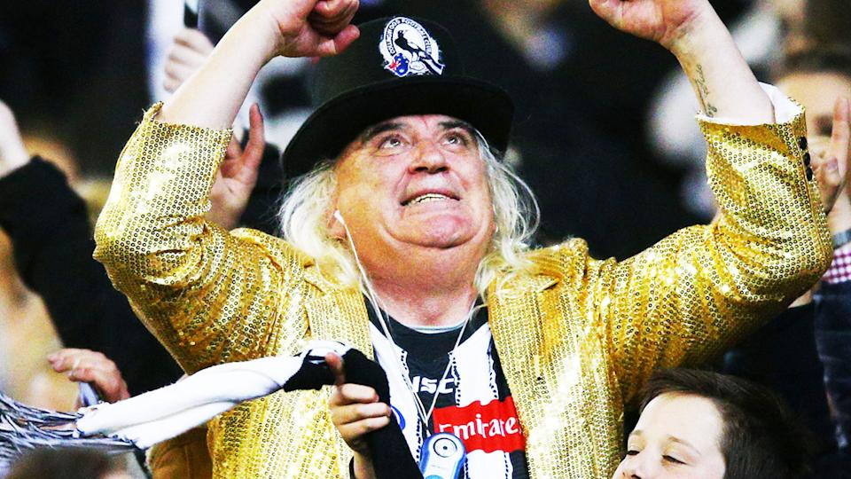 Joffa Corfe, pictured here at the AFL Preliminary Final in 2018.