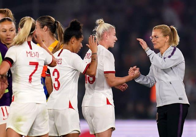 Sarina Wiegman's side have made a flying start to World Cup qualification