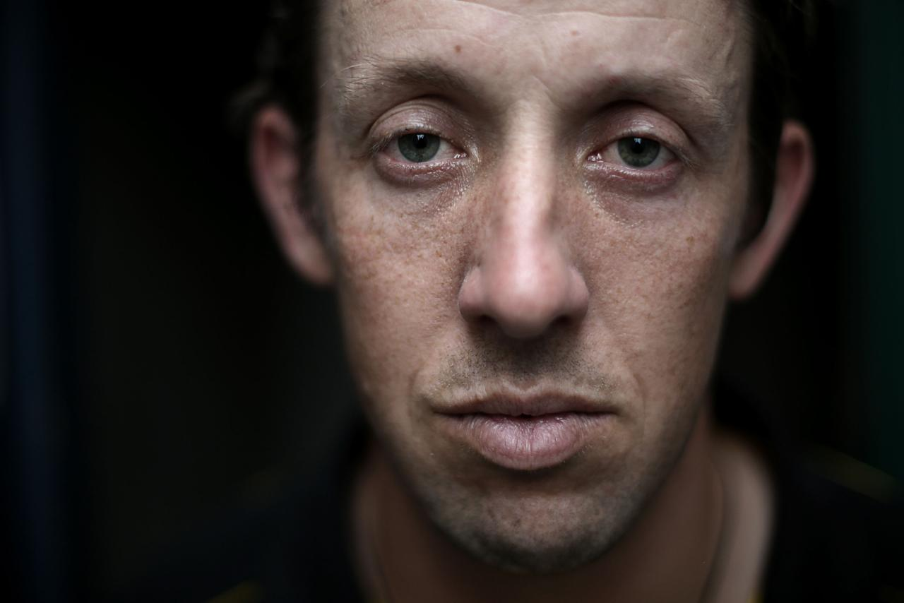 WELLINGTON, NEW ZEALAND - DECEMBER 26:  (EDITORS NOTE: This image has been desaturated) Former Australian International cricketer Luke Ronchi poses for a portrait at Hawkins Basin Reserve on December 26, 2012 in Wellington, New Zealand.  (Photo by Hagen Hopkins/Getty Images)