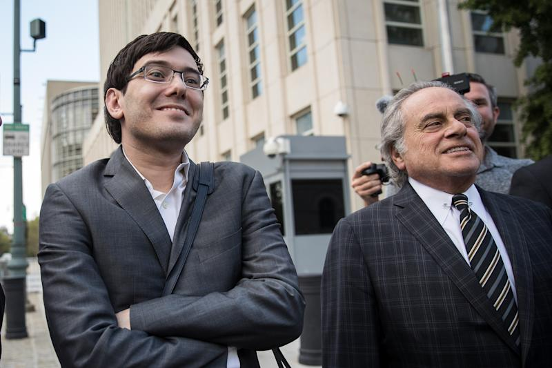 Judge sends Martin Shkreli to jail for Facebook post offering bounty for Hillary Clinton's hair