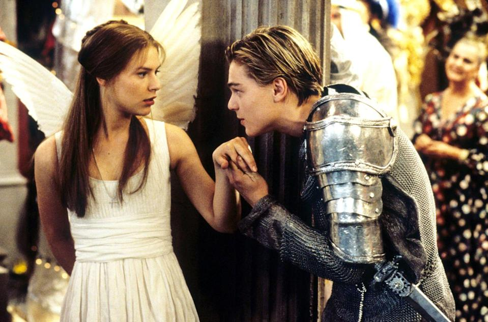 "<p>In Baz Luhrmann's 1996 film adaptation of <em>Romeo and Juliet</em>, Danes and DiCaprio played two of the most iconic lovers in history. But, offscreen things could not have been less romantic. <a href=""http://www.telegraph.co.uk/tv/2016/04/04/12-film-couples-who-couldnt-stand-each-other-in-real-life/romeo-plus-juliet/"" rel=""nofollow noopener"" target=""_blank"" data-ylk=""slk:According to reports"" class=""link rapid-noclick-resp"">According to reports</a>, Danes found DiCaprio ""irritatingly immature,"" as he became known for playing pranks on the cast and crew members. On the other hand, DiCaprio found Danes ""annoyingly reserved and uptight."" In real life, these two ""star-crossed lovers"" were just a set of cross stars.</p>"