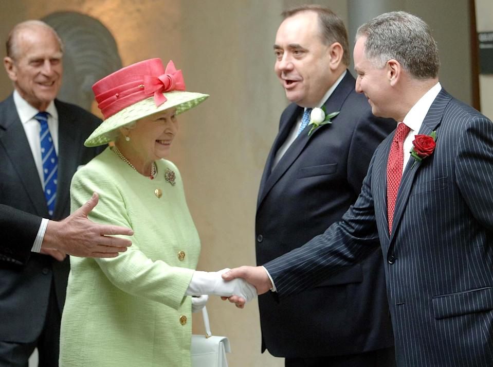 The Queen and Duke of Edinburgh came to Holyrood a number of times on official business (Michael Boyd/PA)