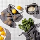 """<p><strong>Reusable Produce Bags</strong></p><p>food52.com</p><p><strong>$29.00</strong></p><p><a href=""""https://go.redirectingat.com?id=74968X1596630&url=https%3A%2F%2Ffood52.com%2Fshop%2Fproducts%2F7557-five-two-organic-cotton-reusable-produce-bags-set-of-8&sref=https%3A%2F%2Fwww.redbookmag.com%2Fhome%2Fg35380342%2Fhow-to-organize-a-fridge%2F"""" rel=""""nofollow noopener"""" target=""""_blank"""" data-ylk=""""slk:BUY NOW"""" class=""""link rapid-noclick-resp"""">BUY NOW</a></p><p>Make sure your fridge and its various sectioned-off compartments are set to the right humidity levels and keep your fruits and veggies separate for this exact reason (fruits prefer lower moisture levels). Separate the drawers for different foods (ideally one for fruits, and another for veggies). </p>"""